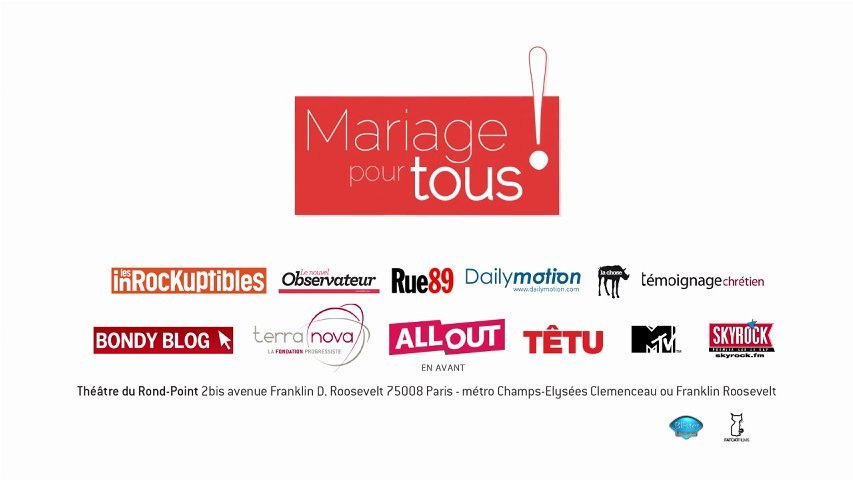 TEASER - Mariage pour tous !