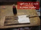 Comment donner un aspect très ancien à un bois très neuf !!!