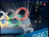Athens 2004 Olympics - Fencing - Men's Foil Final - Sanzo vs Guyart