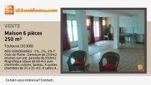 A vendre - maison - Toulouse (31300) - 6 pièces - 250m²
