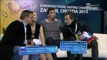 ISU ZAGREB 2013 -16-21- ICE DANCE FD - Ekaterina BOBROVA Dmitri SOLOVIEV - 25.01.2013