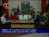Vicepresidente Maduro regresa de La Habana luego de haber visitado al presidente Chávez