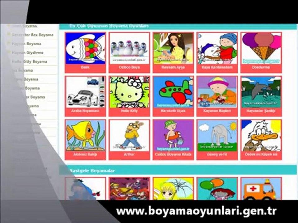 Boyama Oyunlari Oyna Dailymotion Video