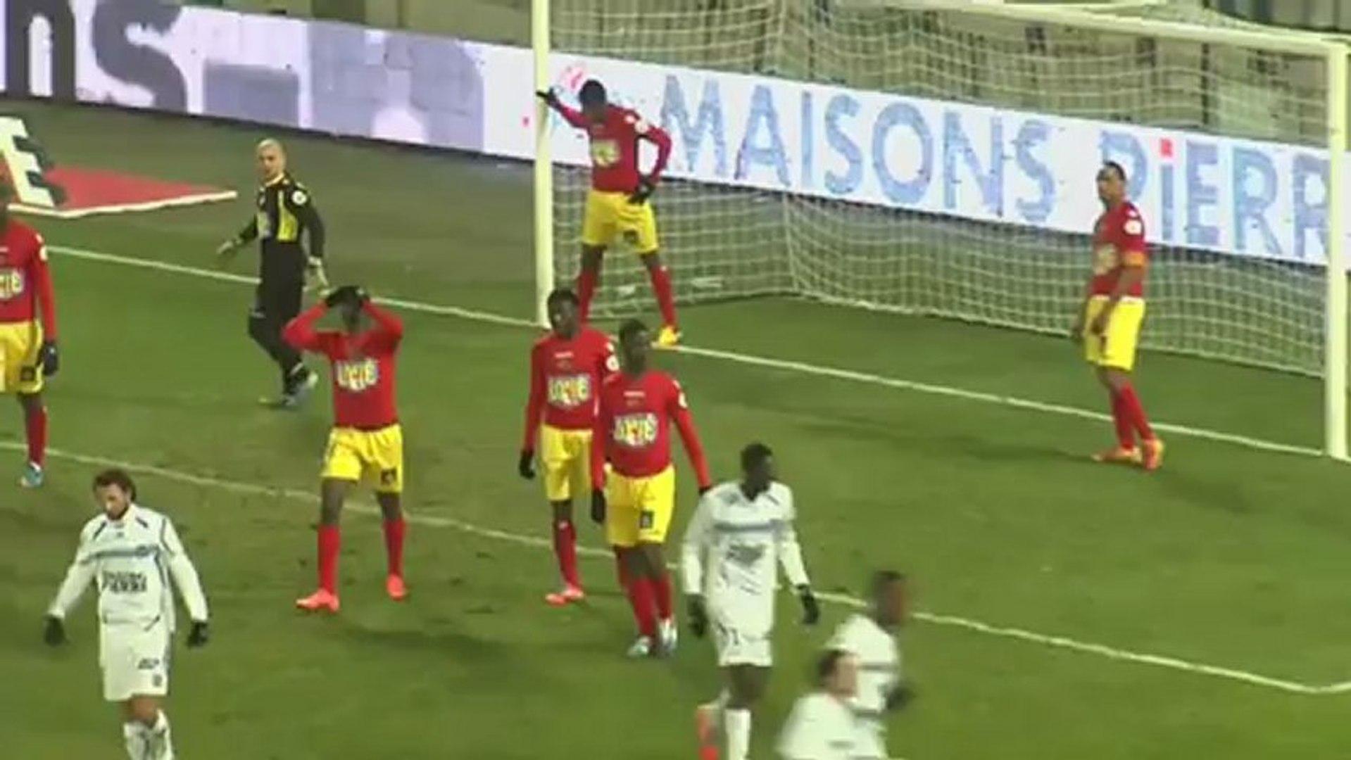 AJ Auxerre (AJA) - Le Mans FC (LEMANS) Le résumé du match (22ème journée) - saison 2012/2013