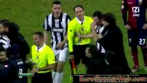 Conte going nuts after handball not called against Genoa