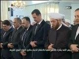 Cumhurbaşkanı Beşar  Esad Mevlid Kandili Töreninde - 24.01.2013