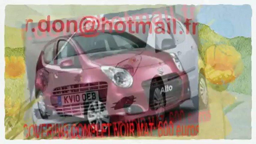 Suzuki Alto, Suzuki Alto, essai video SSuzuki Alto noir mat, covering Suzuki Altonoir mat, Suzuki Alto noir mat