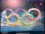 Athens 2004 Olympics - Fencing - Men's Foil Semi Final - Cassara vs Guyart