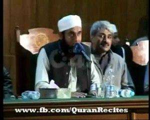 Maulana Tariq Jameel at University of Lahore