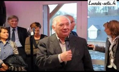 Inauguration micro-crèche à Jarret discours de françois Fortassin