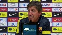 """Roura: """"Para medirse al Madrid, lo mejor, ir con los deberes hechos"""""""