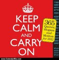 Calendar Review: Keep Calm and Carry On 2012 Calendar (Page a Day Calendar) by Workman Publishing