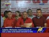 """Psuv anuncia elecciones internas """"por orden expresa de Chávez"""" para escoger candidatos municipales"""