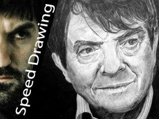 RITRATTO Silvano Agosti - il tipico discorso dello schiavo! Speed Drawing Italia