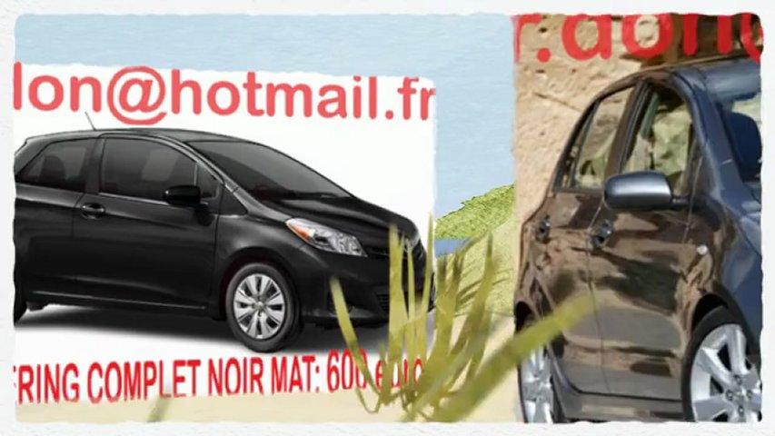 Toyota Yaris, Toyota Yaris, essai video Toyota Yaris noir mat, covering Toyota Yaris noir mat, Toyota Yaris noir mat