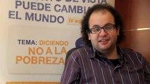 Entrevista a Javier Millán, Presidente del Jurado de Aragón de la IV edición del Concurso de Clipmetrajes de Manos Unidas