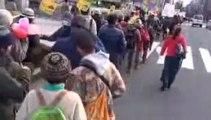 20130126 2/3 大阪瓦礫阻止デモ「One Love Peace Parade」デモ行進 エンパワメントTV