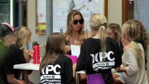 Sally Fitzgibbons Surfing Australia Pro Surfer Camp