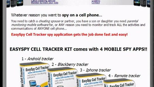 Phone cell tracker software