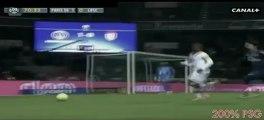 Lucas passe une roulette qui met deux défenseurs dans le vent au cours de PSG-Lille