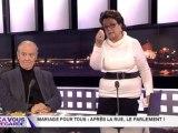 Christine Boutin menace de quitter le plateau de Ça vous regarde !