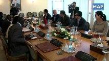 Youssef Amrani reçoit la ministre sénégalaise déléguée auprès du ministre des Affaires étrangères