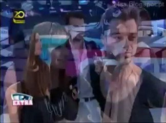 Mara e Fábio Entrevista no final da 1ª Gala Desafio Final