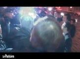 Manifestation Civitas : accrochage entre députés PS et CRS devant l'Assemblée
