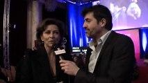 Vincennes Corinne Touzet aux Prix Henri Langlois 2013 et marraine du nouveau Zoo de Vincennes sous les caméras de VincennesTV.fr