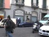 Napoli - Il bar Moccia chiuso per tre scontrini non battuti (29.01.13)