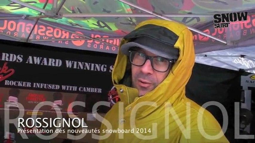Rossignol Snowboard : nouveautés matos 2013/2014