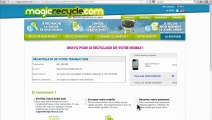 Comment recycler son mobile sur MagicRecycle.