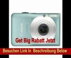 Canon IXUS 105 Digitalkamera (12 Megapixel, 4-fach opt. Zoom, 6.9 cm (2.7 Zoll) Display, bildstabilisiert) aqua