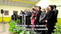 Marmande vœux du maire aux forces vives de la commune