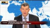 Chronique éco de Nicolas Doze : l'incroyable succès du site vente-privee.com - 30/01