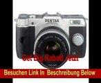 Pentax Q10 Systemkamera (12 Megapixel CMOS Sensor, 7,6 cm (3 Zoll) Display, Full HD, HDMI) inkl. 5-15mm Objektiv Kit silber