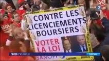 """Manifestation """"interdiction des licenciements financiers"""""""