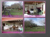 PROPRIETE A VENDRE POUR CHEVAUX 11 BOXES ECURIES 7 HECTARES SUD GIRONDE