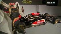 F1 - Les ambitions de Romain Grosjean et de Lotus-Renault