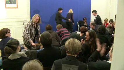 Laure Adler et Najat Vallaud-Belkacem rendent hommage à Françoise Giroud