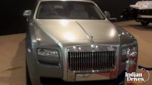 New Rolls-Royce Ghost at 2013 MIMS