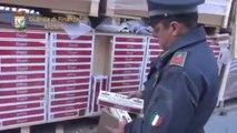 Ancona - Sbarcano 'bionde' straniere al Porto dorico, scatta il maxi sequestro (30.01.13)