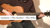 Cours guitare : jouer The seeker de The Who à la guitare - HD