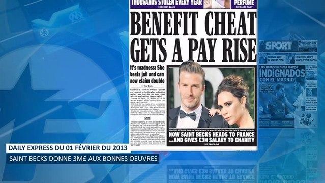Revue de presse : l'arrivée de Beckham met le feu à la presse anglaise !