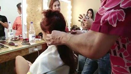 O cabelo de Paloma Bernardi