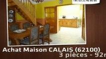 A vendre - maison - CALAIS (62100) - 3 pièces - 92m²