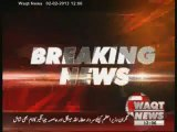 Opposition Parties Finalise the Name of Caretaker PM  02 February 2013