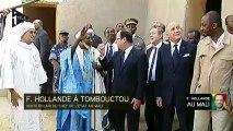 François Hollande à Tombouctou