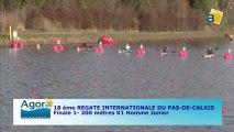 FINALE 1 (200m) K1 HOMME JUNIOR - 18e Régate internationale du Pas-de-Calais de canoë kayak