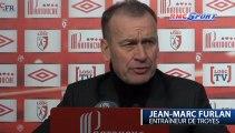 Ligue 1 / Les réactions de R. Garcia et J-M. Furlan après Lille - Troyes 02/02